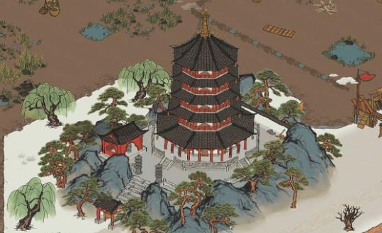江南百景图杭州雷峰塔解锁方法