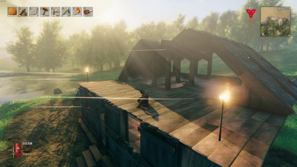 英灵神殿房子坍塌解决方法